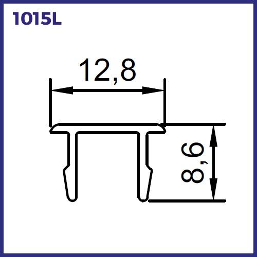 1015L - TAMPA DE ARREMATE PARA 1021L / 1034L