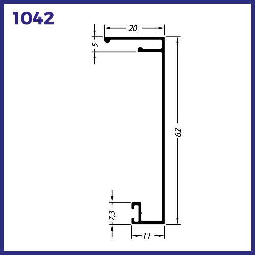 1042 - CAPA PARA TRILHO 1041
