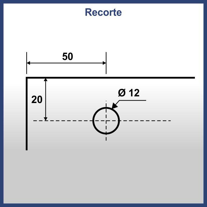 1125F - ROLDANA PARA BOX E ENGENHARIA EXCÊNTRICA