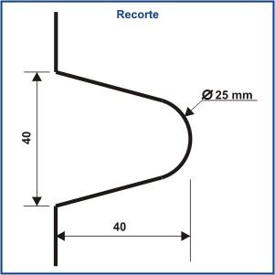 1230 - DOBRADIÇA BUCHA PARA BASCULANTE 50 X 50 MM