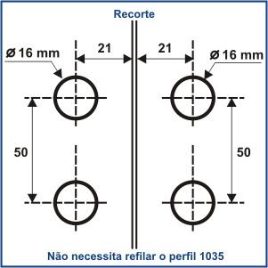 1570P - FECHO CENTRAL VIDRO/VIDRO BATE-FECHA